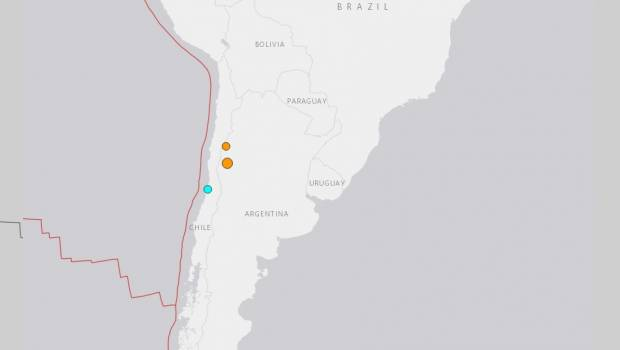 Temblor de mediana intensidad se percibió en la zona central