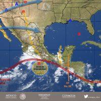 Fuertes lluvias en gran parte del país, Oaxaca, Chiapas y Guerrero los más afectados