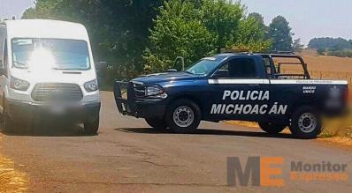 Acribillado a balazos en Michoacán