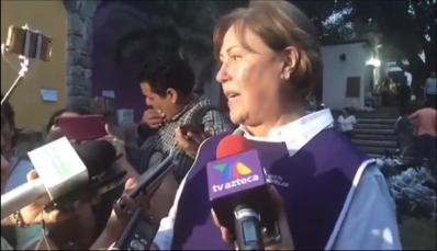 Elena Cepeda, esposa de Graco Ramírez