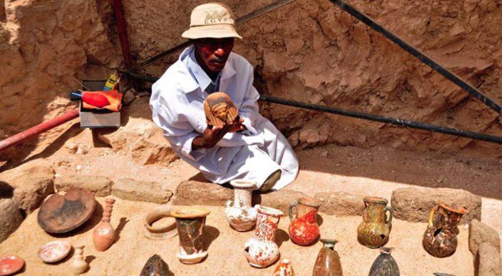 Descubren tumba faraónica de 3 mil 500 años de antigüedad, en Egipto