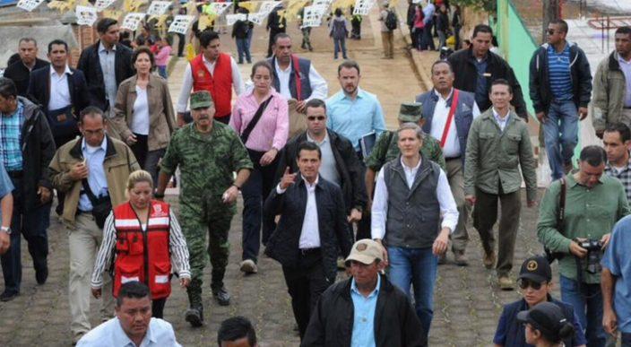 Peña Nieto viaja nuevamente a Chiapas