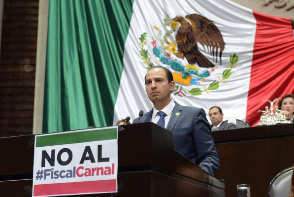Asegura PAN que frenará pase automático de Raúl Cervantes a Fiscalía General