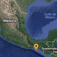 Se registra sismo de magnitud 4.9 en Ciudad Hidalgo, Chiapas