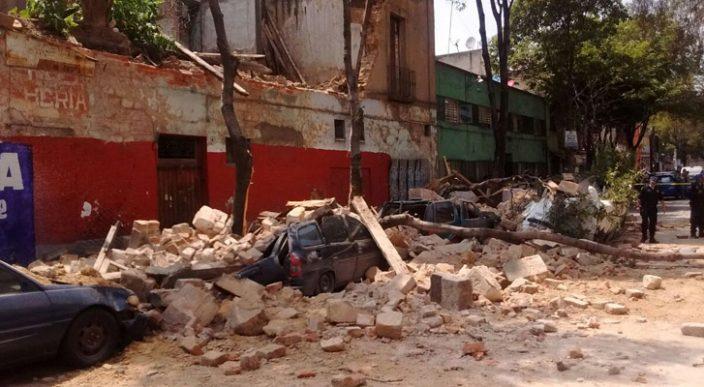 Confirman 42 muertos en Morelos luego del terremoto de 7.1