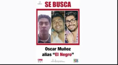 El Negro, Oscar Muñoz