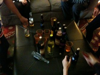Alcohol en la universidad