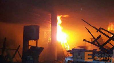 Incendio Arcelor Mital