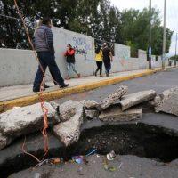 Anualmente zonas de la CDMX se hunden hasta 40 centímetros: UNAM