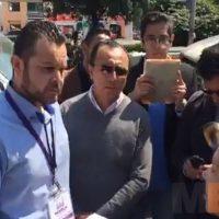 Ayuntamiento de Morelia retira valla metálica de particular por invadir vía pública (video)