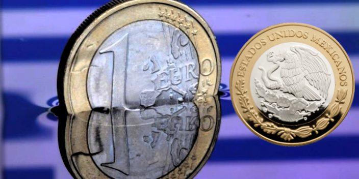 El dólar baja cinco centavos y se vende en 19.45 pesos