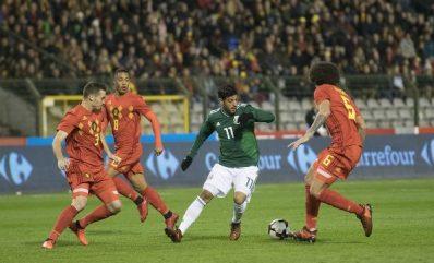 México vs Bélgica