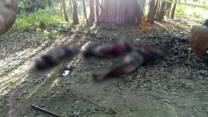 Abandonan 14 cadáveres sobre la carretera en Guerrero