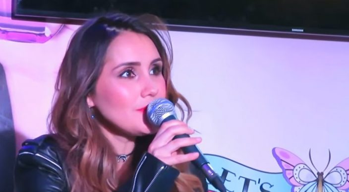 Dulce María afirma que sí había un catálogo de actrices en Televisa