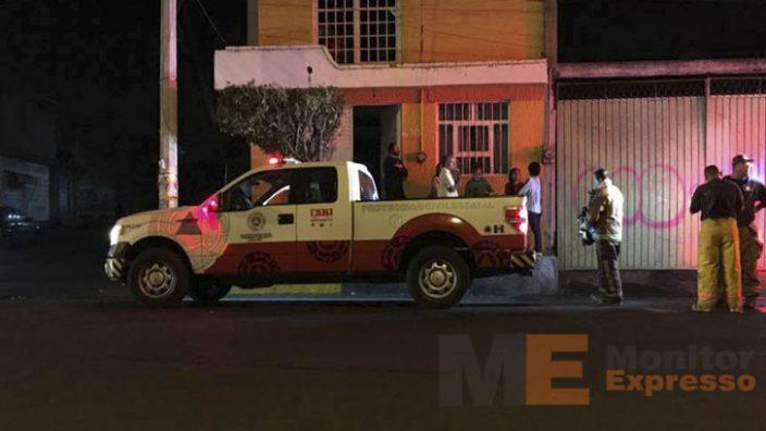 Se incendia negocio de pinturas en la colonia Las Margaritas de Morelia