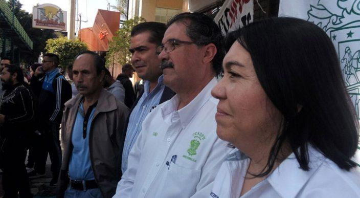 CNTE marcha hacia el Centro de Morelia