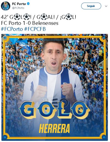 El HH comanda victoria del Porto