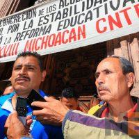 Trabajadores de educación en Michoacán sin bonos
