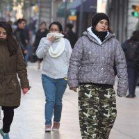 Descenso en temperatura y vientos fuertes en el noroeste y norte de México