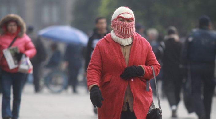 Temperaturas de -5 grados en zonas montañosas de centro y norte del país