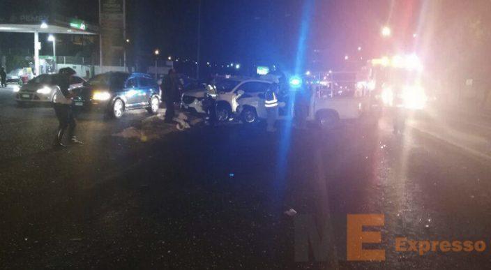 Saldo de 5 heridos por colisión de automotores en la salida a Quiroga de Morelia