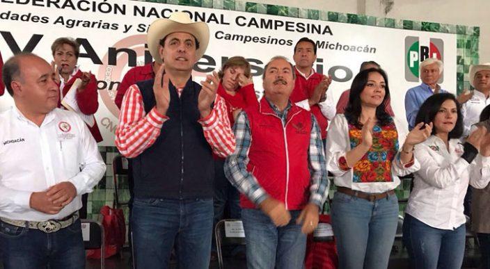 Señala Víctor Silva que el PRI llega con fortaleza para el 2018