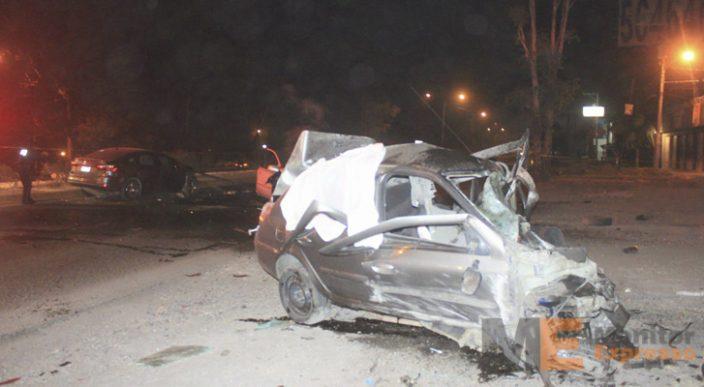Un adulto y dos menores mueren por percance vial en Morelia