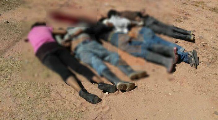 Encuentran los cuerpos de cuatro hombres y una mujer en Guerrero