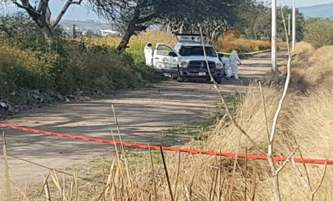 Localizan cuerpo encobijado y maniatado en un ejido de Cuitzeo, Michoacán