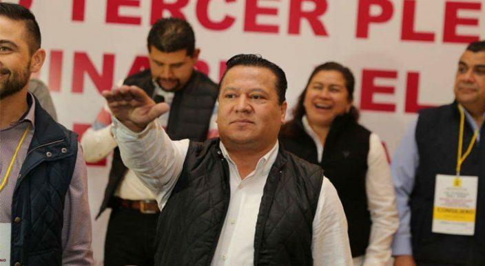 Martín García Avilés es designado como presidente estatal del PRD en Michoacán