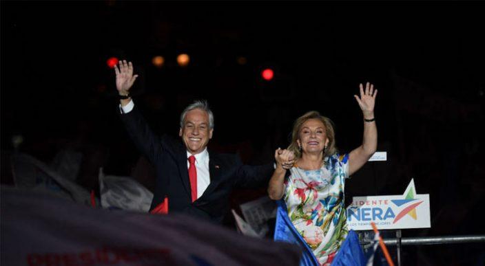 El ex presidente Sebastián Piñera vuelve a ganar las elecciones en Chile