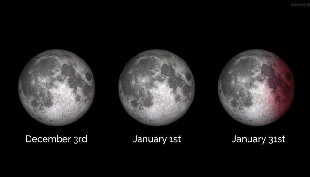 Este fin de semana se verá la última Superluna del 2017