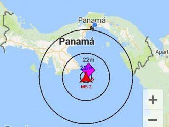 Sismo en Panamá Michoacán