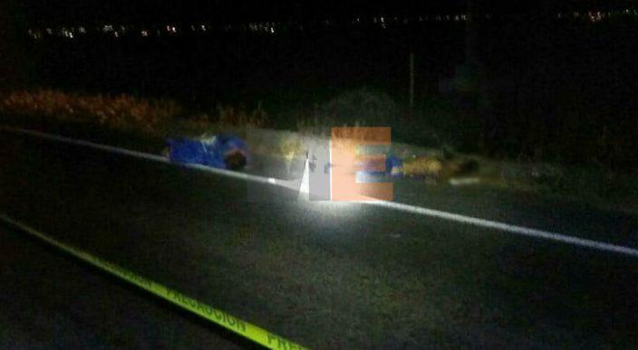 Encuentra los cadáveres de dos hombres en la carretera Morelia-Cuitzeo