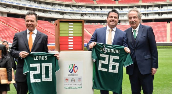 ¿Se imaginan la inauguración del Mundial 2026 en el Azteca?