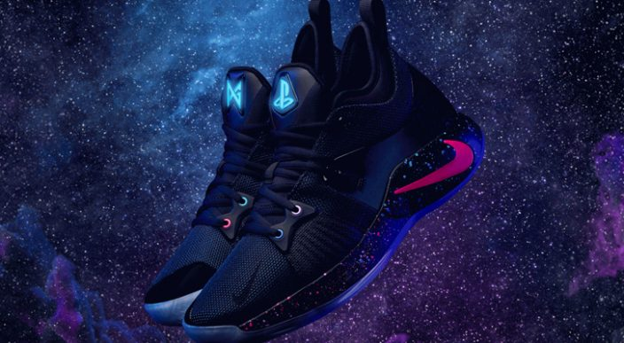 Sony y Paul George lanzan las zapatillas Nike PG-2 PlayStation Colorway
