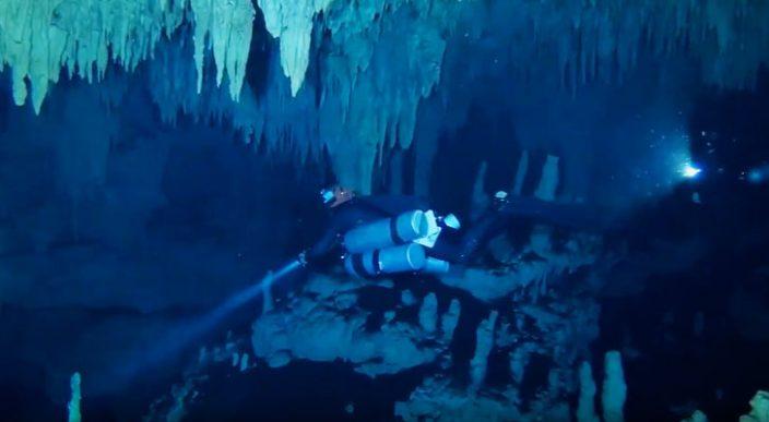 Hallan en QuintanaRoo la cueva inundada más grande del mundo