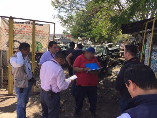Refuerzan inspección a comercios de autopartes usadas: Ayuntamiento de Morelia