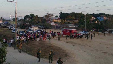 Desplome de helicóptero en Oaxaca