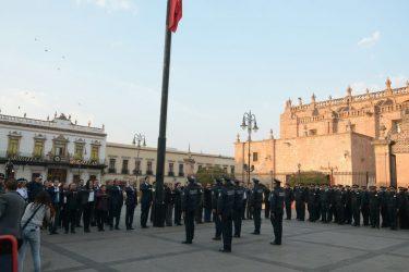 Morelia Michoacán Izamiento