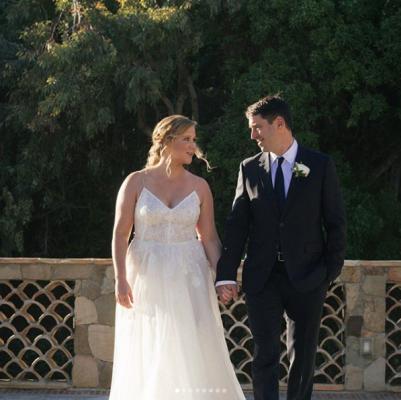 ¡Amy Schumer se casó con el chef Chris Fischer de sorpresa!