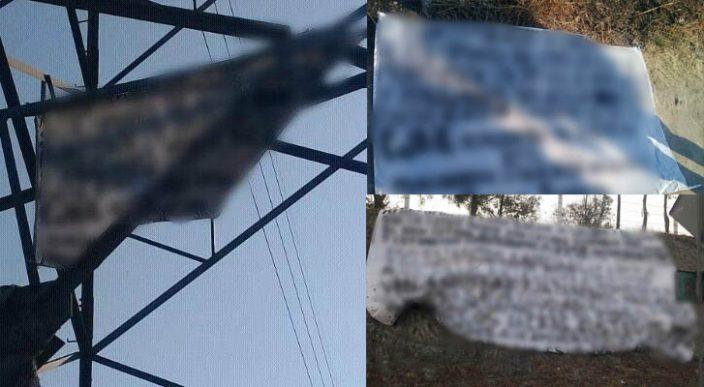 Aparecen dos nuevas narcomantas en Morelia