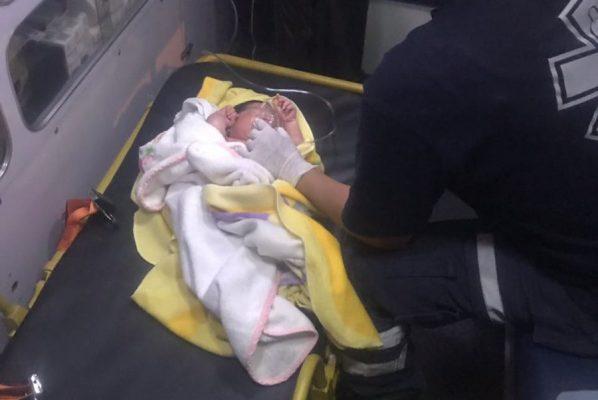 Abandonan a bebé en Eje 6 Sur y Churubusco, delegación Iztapalapa
