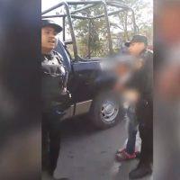 Causa indignación la detención de un niño de 10 años por la Fuerza Civil en Monterrey (Video)
