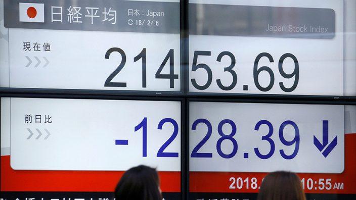 Mercados asiáticos sufren nuevos latigazos tras caída de Wall Street