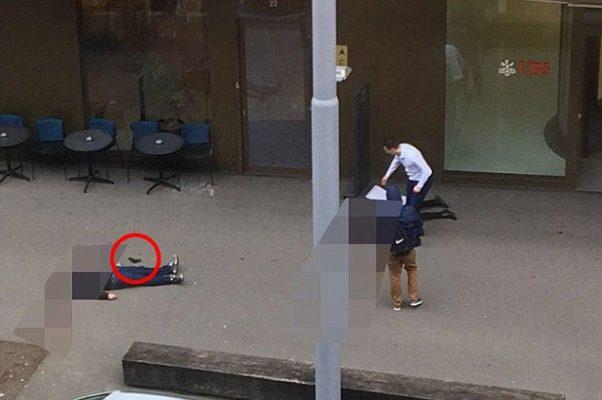 Dos personas mueren a tiros fuera de un banco de UBS en Zurich, Suecia