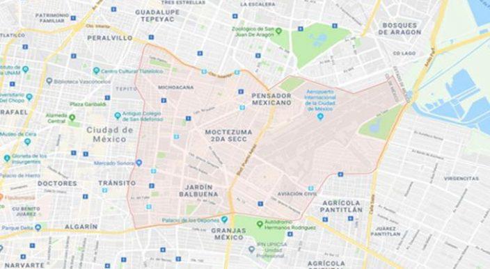 Sismo de 2.5 en la delegación Venustiano Carranza, reportan autoridades