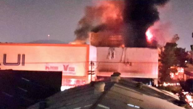Dos incendios en CDMX; no hay reportes de lesionados