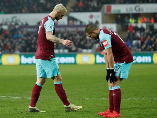 Swansea le pasa por encima al West Ham