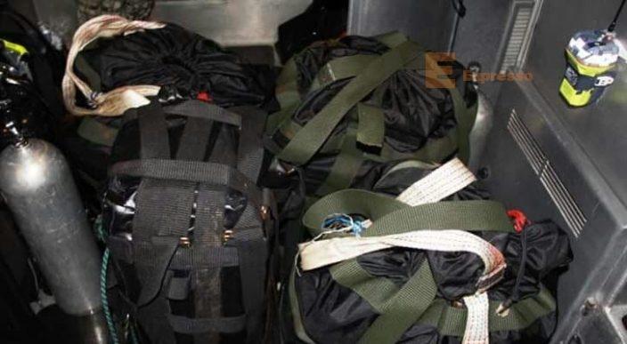 Aseguran cuatro maletas con cocaína en Lázaro Cárdenas, Michoacán